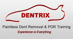 Dentrix Paintless Dent Removal and PDR Training Logo